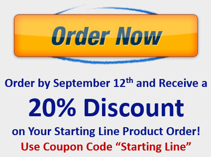 Starting Line Order Now Coupon Code image