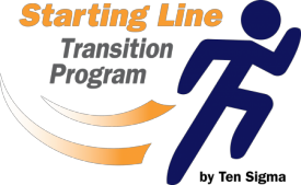 starting line logo png