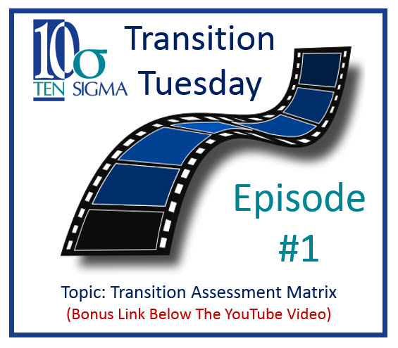 Transition Tuesday Episode 1