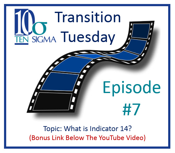 Transition Tuesday Episode 7