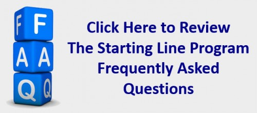 Starting Line FAQ frequently asked questions