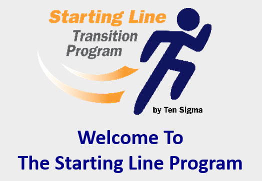 Welcome to the Starting Line and Get Started 2