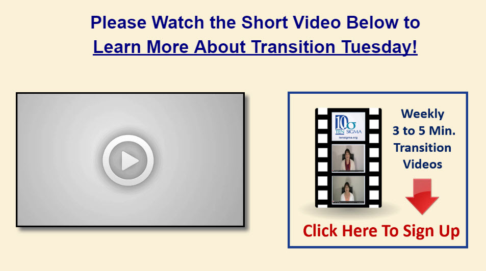 Transition Tuesday Test Image