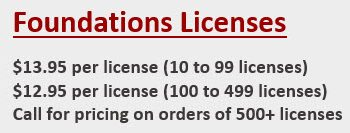 Foundations license pricing