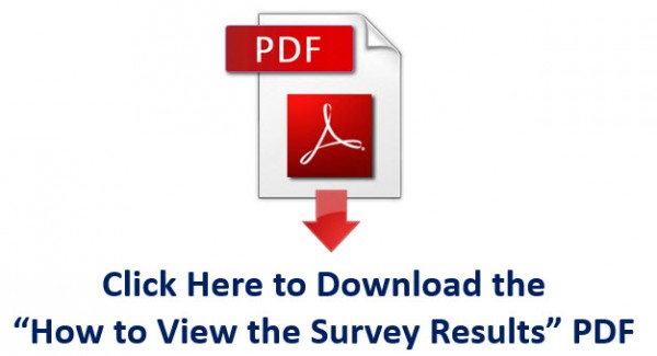 How to view the survey results
