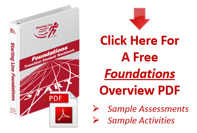 Starting Line Gen Ed Foundations Overview PDF White