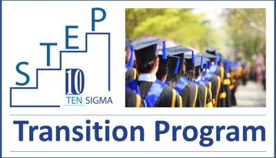 Ten Sigma STEP Transition Program Logo Blog