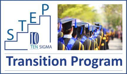 Ten Sigma STEP Transition Program Logo Blog