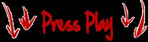 red press play down arrow