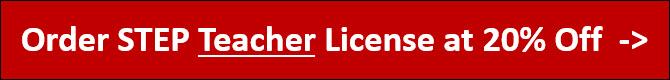 order step teacher license at discount