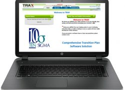 TRAX Transition Plan software laptop new 2