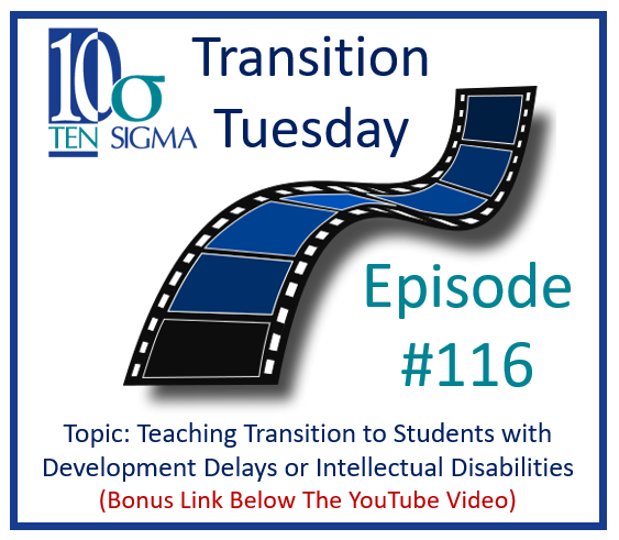 Teaching Transition to Students with Developmental Delays Episode 116 Replay Thumbnail